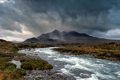 Sliagachan Skye by donald Goldney (Isle of Skye, Scotland)
