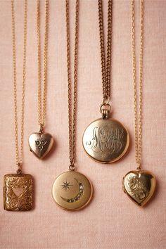 vintage lockets