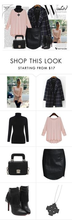 """Shein.com Contest-Pink Round Neck Loose"" by elena-indolfi ❤ liked on Polyvore featuring Balenciaga, Sheinside, elenaindolfi, shein and zazzy"