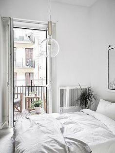 white home decor | designlovefest