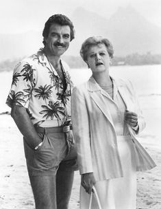 Murder She Wrote and Magnum P.I.  I loved these crossover episodes! My two favorite crime solvers