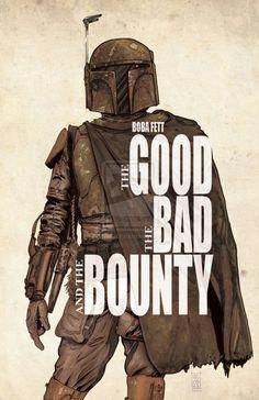 The Good, the Bad and the Bounty #starwars #bobafett #thegoodthebadandtheugly