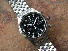 IWC Schaffhausen 3717 Pilot Chronograph