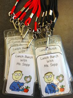 Ms. Sepp's Counselor Corner: Lunch Bunch Passes. Click the link for more info.