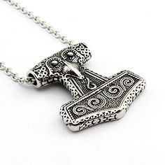 Hpolw Exquisite Christmas Gift Punk Male Stainless Steel Hammer Necklace Pendant Hpolw http://www.amazon.com/dp/B00Z6YB9WS/ref=cm_sw_r_pi_dp_hvvZvb028R04Y