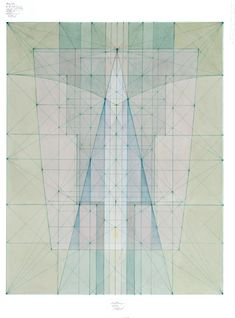 Mark A Reynolds Double Phi Root Series, Dec. x 11 in. Watercolor and color ink on rag paper Geometric Drawing, Geometric Shapes, Geometric Designs, Illustrations, Illustration Art, Geometry Pattern, Creative Colour, Layout, Expo