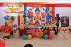 Plim plim Happy 2nd Birthday, Circus Birthday, Boy Birthday Parties, Baby Birthday, First Birthday Decorations Girl, Ideas Para Fiestas, Babies First Christmas, Baby Party, First Birthdays