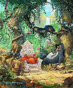 The Jungle Book - I Wanna' Be Like You - James Coleman - World-Wide-Art.com