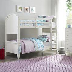 Dorel Living Vivienne Twin Over Twin Bunk Bed