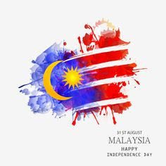 Vector Illustration Independence day of Malaysia. Vector Illustration Independence day of Malaysia. Independence Day Poster, Independence Day Wallpaper, Eid Card Designs, Flag Painting, Building Painting, Flag Drawing, Happy National Day, Malaysia Truly Asia, Happy Birthday Wallpaper