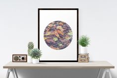 Sacred Geometry Art, Seed Of Life,  Autumn Leaves, Minimalist Geometric Art,  Fine Art Printable by WellDressedWall on Etsy https://www.etsy.com/listing/232178308/sacred-geometry-art-seed-of-life-autumn