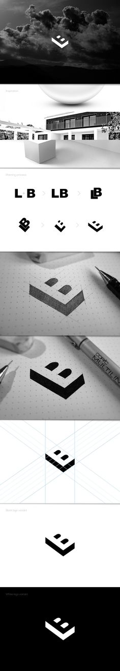 Béla Lajos personal logo - behance - created on 2 Logo, Typography Logo, Graphic Design Typography, Logo Branding, Branding Design, Lettering, Brand Identity, Logo Sketch, Logos Online