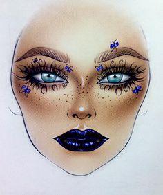 "8,568 Likes, 20 Comments - Sergey X (@milk1422) on Instagram: ""#artist@milk1412  ✨ #mylove #myart #myartistcommunity #myartistcommunityrussia #makeup #makeupart…"""