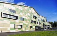 Kannisto School by Linja Architects Ltd. (Helsinki, Finalnd) #architecture