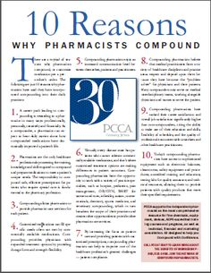 Advantages of Becoming a PCCA Member- PCCA Strengthens the role and skills of member compounding pharmacists through our exceptional service, highest-quality products, shared innovations, and education, so they can meet patients' unique healthcare needs. Way #20 Spring 2011/ Improving Patient Care & Pharmacy Profitability ----- (As seen in the SPRING 2011 20Ways publication www.rxinsider.com..)