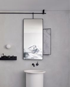 """Scandinavian Lifestyling on Instagram: """"•• Minimalist Simplicity, prevalent throughout the @259georgestreet   Memocorp office. The entire palette, the bathroom detail and that…"""""""