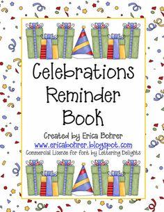 FREE Reminder Book