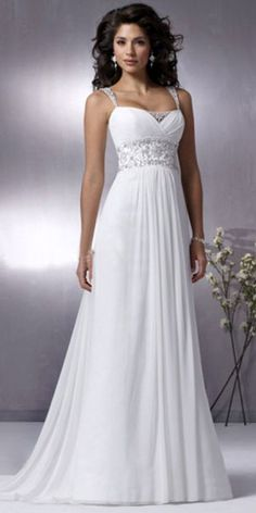 Beach Wedding Dresses #WeddingDress repinned by wedding accessories and gifts specialists http://destinationweddingboutique.com