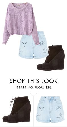 """""""Untitled #251"""" by noags ❤ liked on Polyvore featuring beauty, Stuart Weitzman, New Look and Chicnova Fashion"""