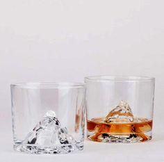 Verre � whisky en cristal Montain Glass Pa Design