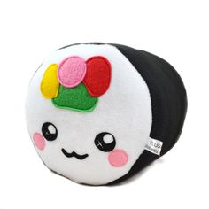 Sushi Roll plushie / pillow / cushion / novelty home by Plusheez