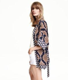 Patterned Kimono | H&M US