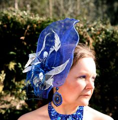 semipamela ala grande azul
