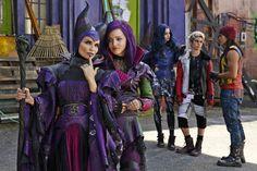 Disney personnage descendants méchants