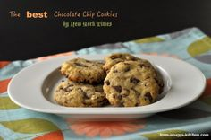 from-snuggs-kitchen: Chocolate Chip Cookies aus der New York Times