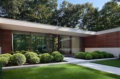 Modern Two Story U-shaped House