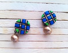 Shop Terracotta Tiny Stud By Nakshatra Online | Best collection of Earrings