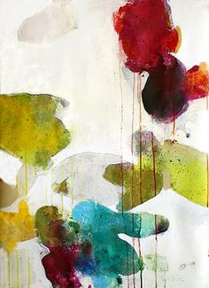 ♒ Art in the Abstract ♒ modern painting - Meredith Pardue