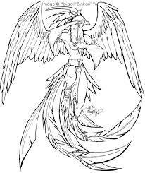 Image Result For Realistic Phoenix Bird Drawings Bird Drawings Bird Coloring Pages Coloring Pages