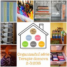 terapiedomova | Organizační série Flylady, Home Organization, Clean House, Magazine Rack, Projects To Try, Cleaning, Storage, Home Decor, Therapy