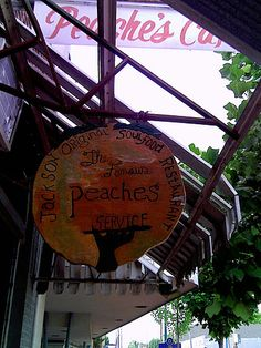 Peaches Cafe, Downtown Jackson Mississippi