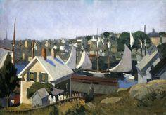 Edward Hopper:  Gloucester Harbour (1912)