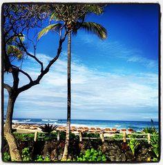 Breakfast in Kona, Hawaii!!