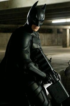 Batman (Christian Bale) in TDKR