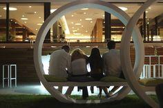 Hotel Rimini sul mare a Viserbella Outdoor Furniture, Outdoor Decor, Relax, Lifestyle, Bedroom, Design, Home Decor, Decoration Home, Room Decor