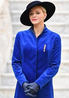 Newmyroyals: Monaco National Day, Princely Palace, November 19, 2017-Princess Charlene