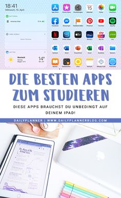 Ipad Apps, Note Tablet, Study Apps, Study Skills, Good Notes, School Notes, Best Apps, School Hacks, Study Notes