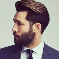 The focus of the quiff is generally on the hair that is just above the forehead and you do not need to pump up the entire hair. Try these Mens Quiff Hairstyles to get stunning look. Quiff Hairstyles, Trendy Hairstyles, Mens Hairstyles 2018, Classic Hairstyles, Medium Hairstyles For Men, Vintage Hairstyles For Men, Mens Hairstyles With Beard, Drawing Hairstyles, Pompadour Hairstyle