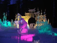 North Pole, Alaska Ice Festival