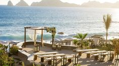 The Cape is a Thompson Hotel in Cabo San Lucas. This luxury boutique hotel offers a variety of guestrooms and suites. Guests of the hotel will enjoy various dining options, plush amenities, hotel packages and specials.