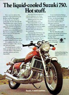 1974 Suzuki GT750 ad.
