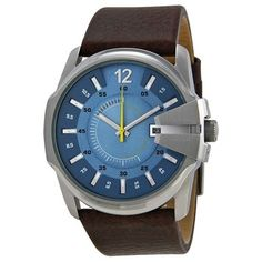 Diesel Not So Basic Blue Dial Brown Leather Mens Watch DZ1399. Get the lowest price on Diesel Not So Basic Blue Dial Brown Leather Mens Watch DZ1399 and other fabulous designer clothing and accessories! Shop Tradesy now