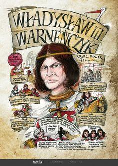 Władysław Warneńczyk Learn Polish, Poland History, Polish Language, E Mc2, Homeschool, Education, Kids, Polish, Poster