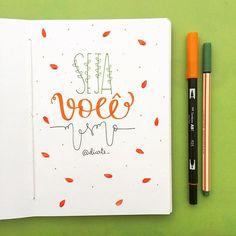 s e m p r e  - #sketchbookdiarte #diarte_ #handmade #handlettering #art #beyourself #type
