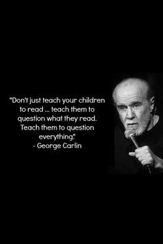 You got that right George. Even do that for the youngest of listeners.