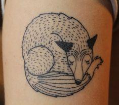 #fox #ink